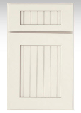Country Cabinetry, Edinburgh on maple painted in Linen