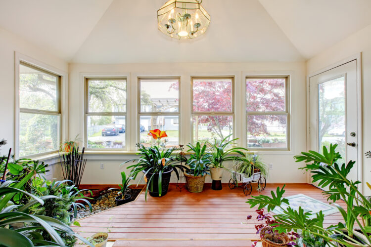 A Functional Sunroom in Lutherville, MD