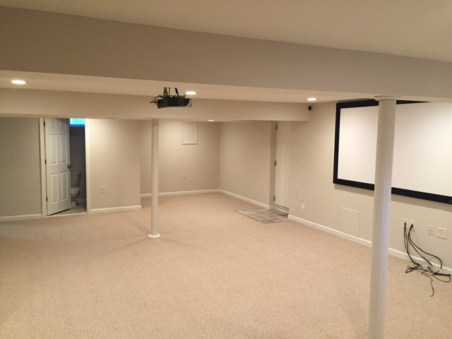 Basement Remodeling, Theater Room