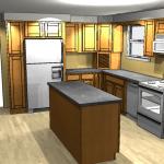 Kitchen Design, Columbia MD Open Kitchen