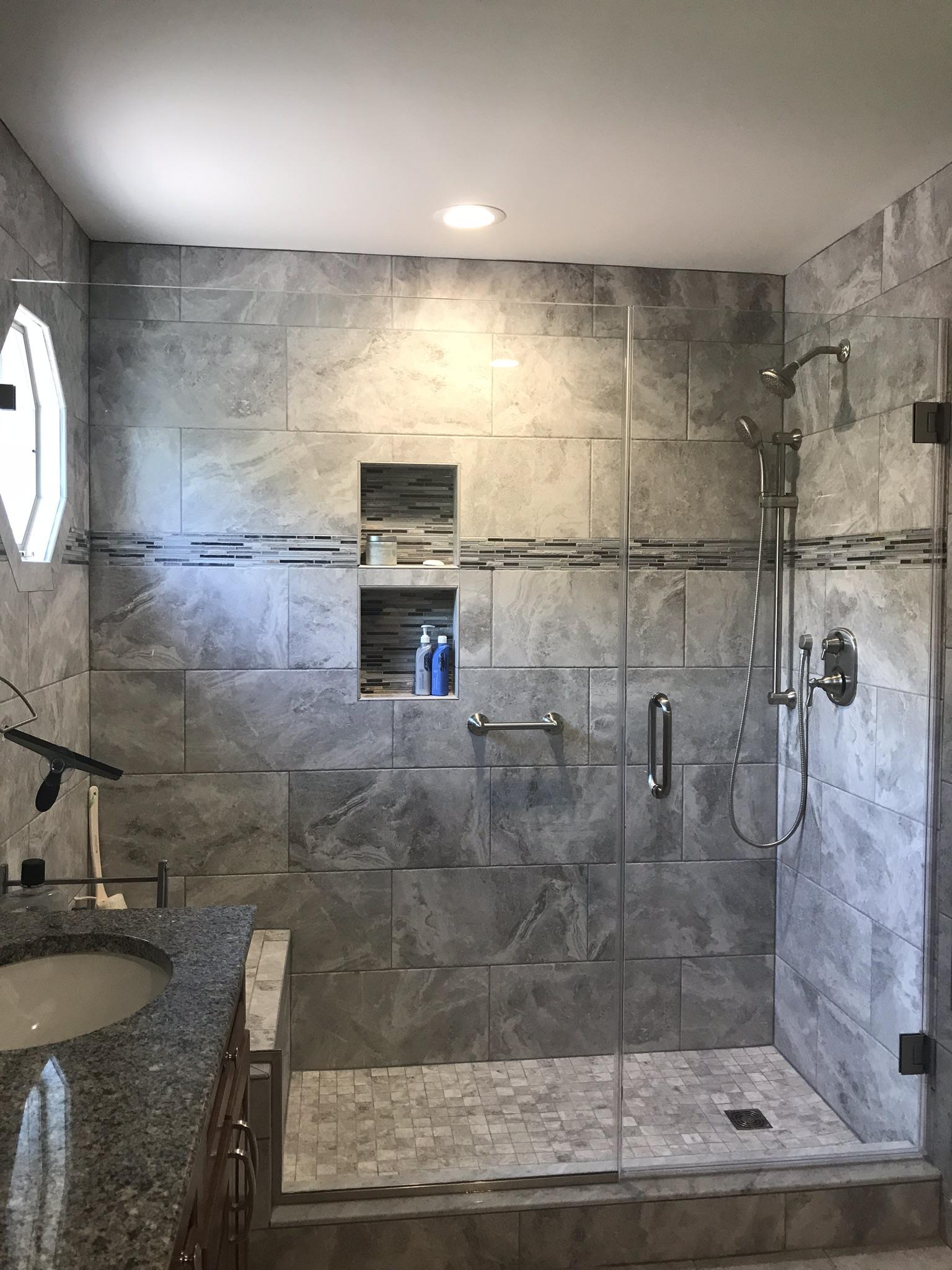 Custom Glass Shower Enclosure